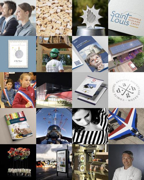 Agence web à Valence et Montélimar, lien vers le portfolio de l'agence.