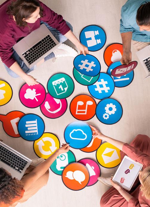 Social media manager dans la drôme en communication sur les réseaux sociaux