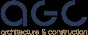 Création du logo d'AGC architecture à Valence, Rovaltain et Montélimar.
