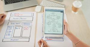agence web à Valence et Montélimar dans la Drôme crée l'arborescence de votre site interne vitrine et e-commerce