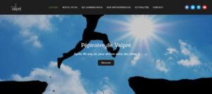 Création de site internet pour la Pépinière de Valpré par Pixeldorado, agence de communication digitale dans la Drôme.